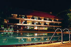 Khao Yai Pool Night