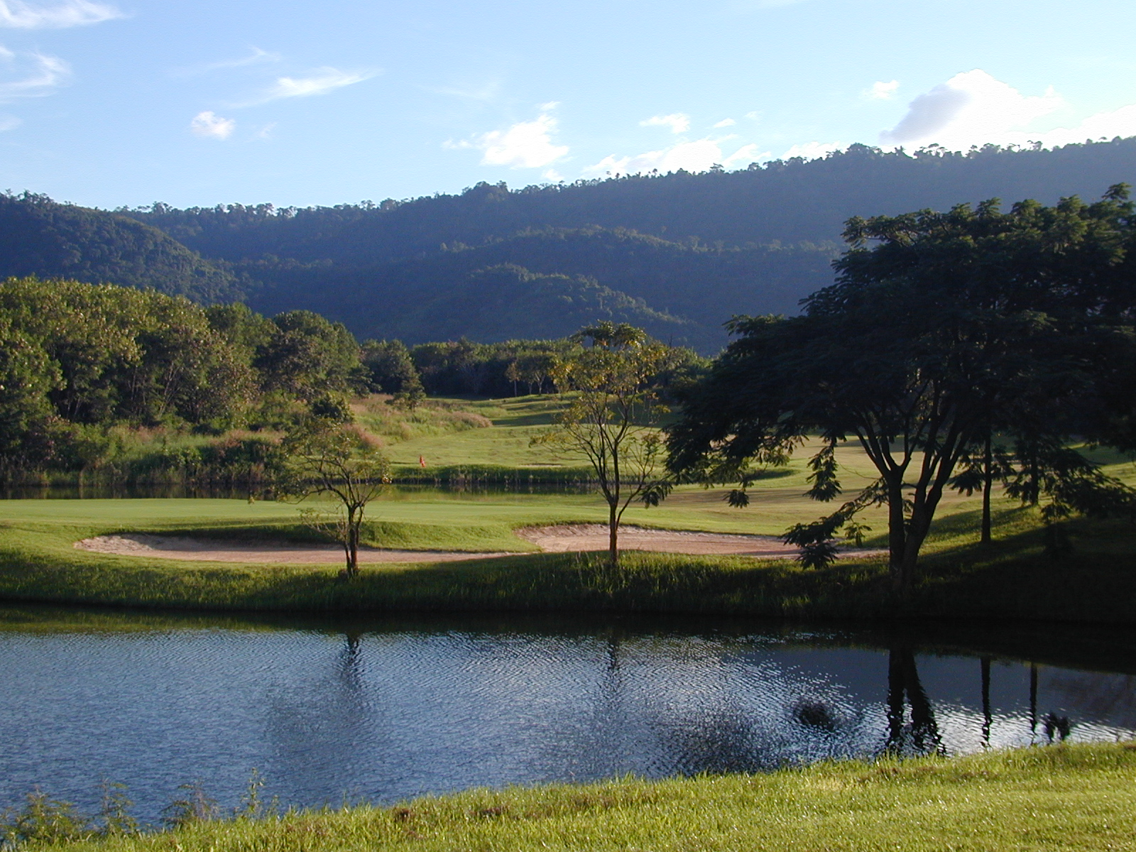 Golf Course Khao Yai